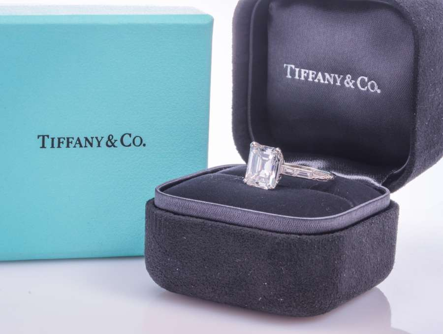 3+ Carat Tiffany Diamond Ring