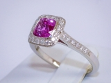 Sell_Cushion_Shaped_Pink_Sapphire_Rings
