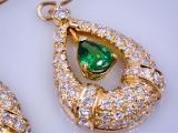 Tsavorite_Green_Garnet_Earrings